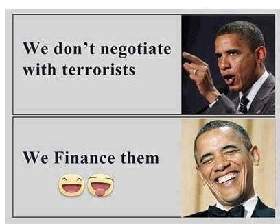 Wir finanzieren Terroristen