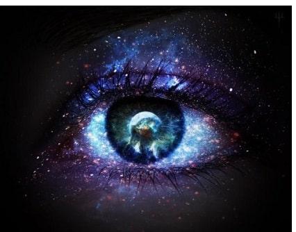 Augen Spiegel Bewusstseinszustand