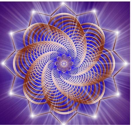 Heilige geometrische Muster
