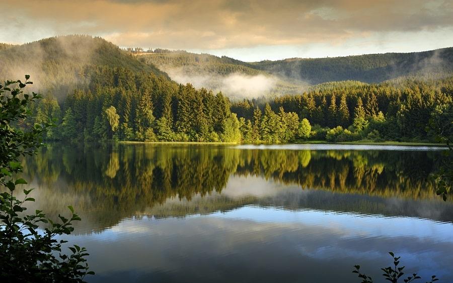 Der Harz - Mittelgebirge
