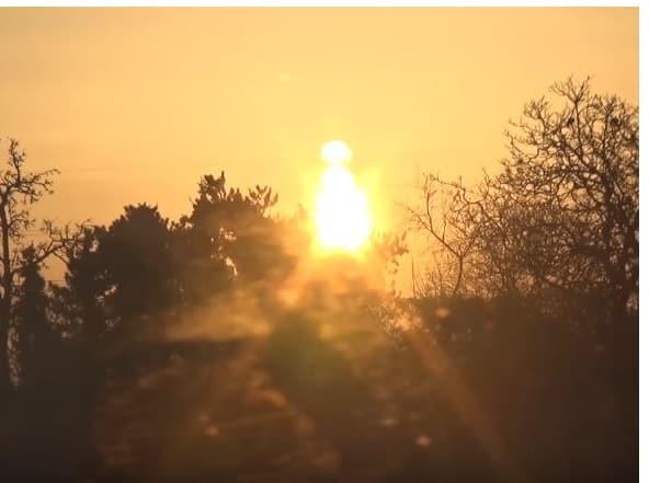 Entgiftungstag - Sonnenaufgang