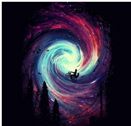 Alles entsteht in dir