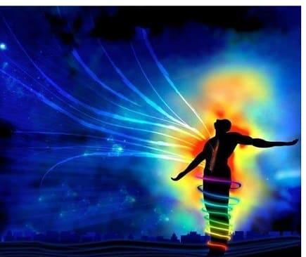 Starke energetische Bewegungen