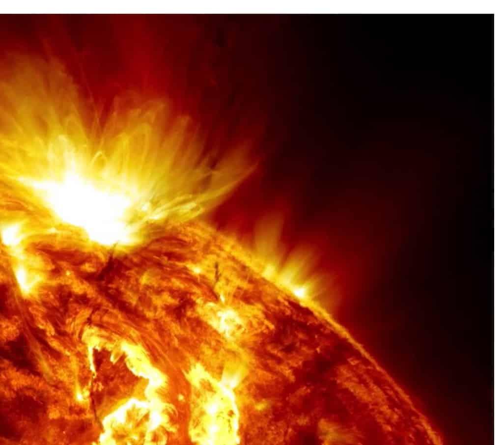 Sonnensturm Einflüsse
