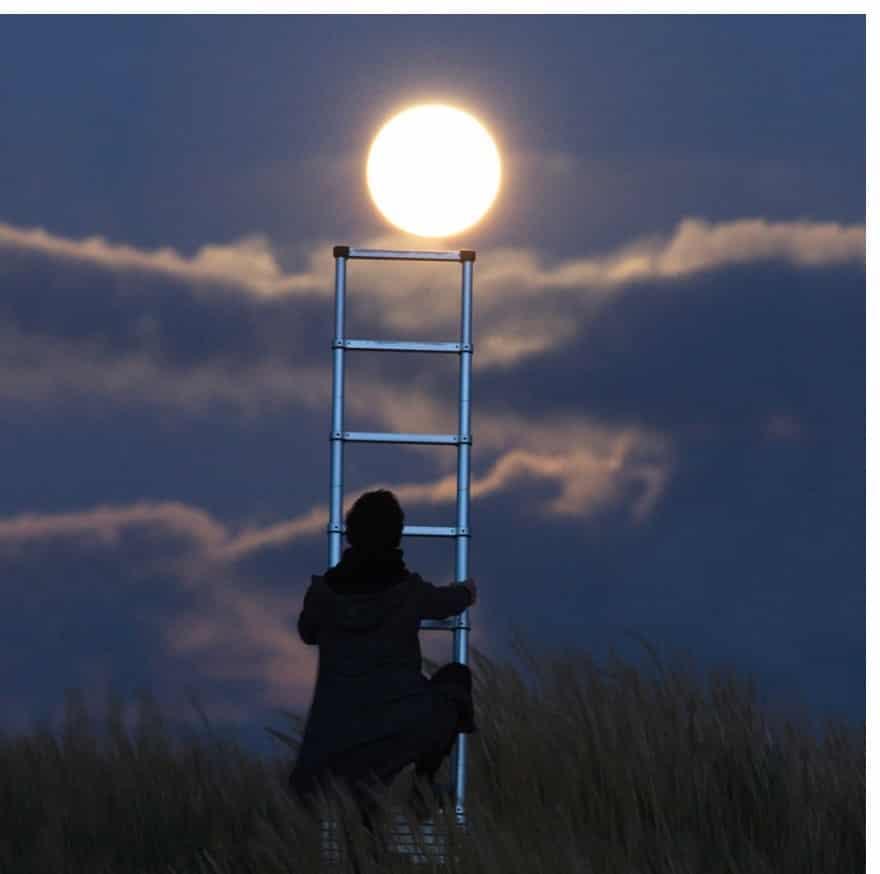 Besonderer Mondumstand am 31. Januar 2018