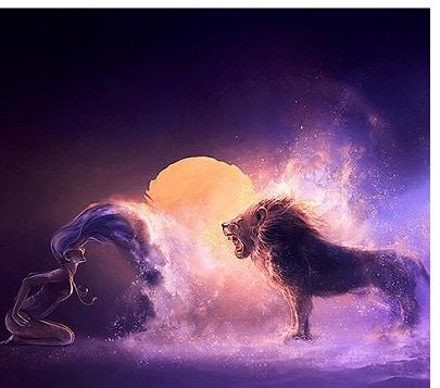 Mond im Sternzeichen Löwe