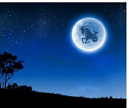 Mond im Sternzeichen Steinbock