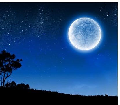 Mond wechselt in das Sternzeichen Waage