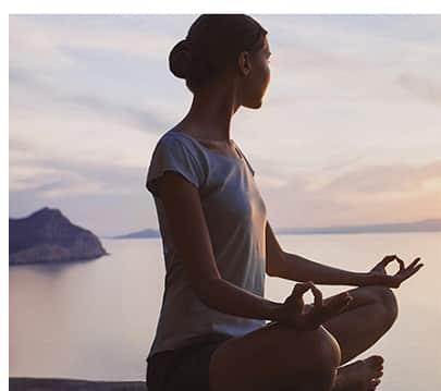 Meditation & Ruhe - Stress meiden