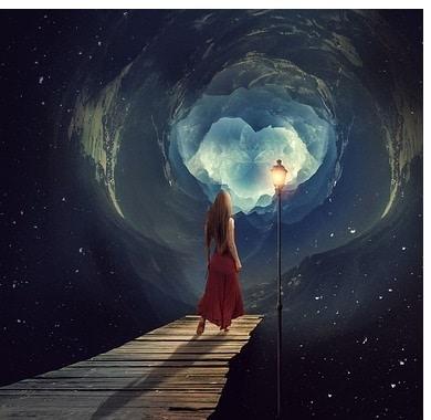 Mond wechselt in das Sternzeichen Fische