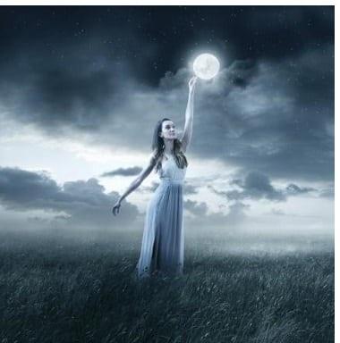 Mond im Sternzeichen Wassermann