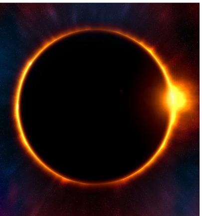Die Magie der heutigen ringförmigen Sonnenfinsternis