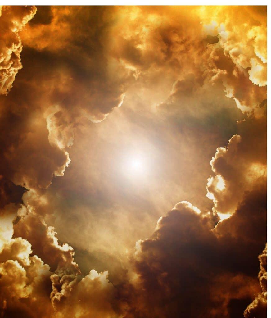 Starke Sonnenimpulse