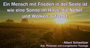 Albert-Schweitzer-Zitat