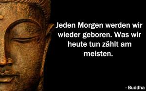 Buddha-jeden-Morgen