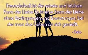 Freundschaft-ist-die-reinste-Form-der-liebe